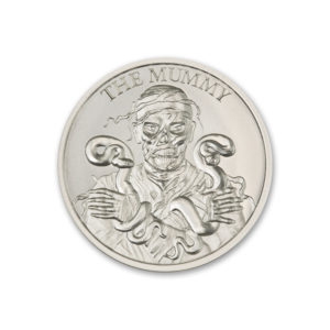 THE MUMMY – VINTAGE HORROR SERIES – 1 TROY OUNCE – 39MM