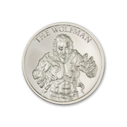 THE WOLFMAN – VINTAGE HORROR SERIES – 1 TROY OUNCE – 39MM
