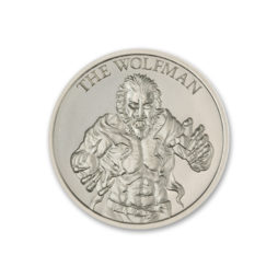 THE WOLFMAN – VINTAGE HORROR SERIES – 2 TROY OUNCE – 39MM