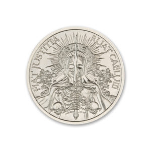 2021 FIAT JUSTITIA RUAT CAELUM – 1 TROY OUNCE – 39MM