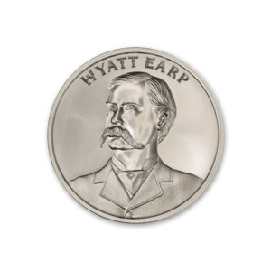 WYATT EARP – 2 TROY OUNCE – 39MM