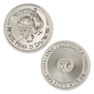 MORTE PRIMA DI DISONORE – TYPE II – 1 TROY OUNCE – 39MM