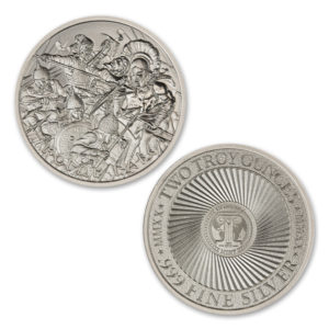 2020 – MOLON LABE – TYPE VIII – 2 TROY OUNCE – 39MM