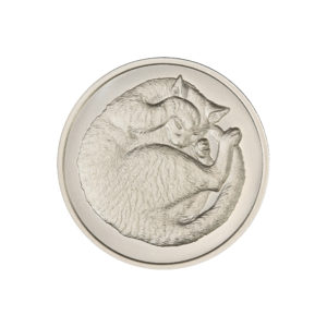 2021 – SLEEPING CAT – 1 TROY OUNCE – 39MM