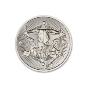JESSE JAMES – 2 TROY OUNCE – 39MM