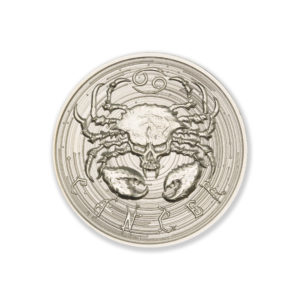 ZOMBIE ZODIACS – CANCER – 2 TROY OUNCE – 39MM