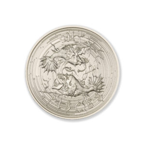 ZOMBIE ZODIACS – PISCES – 2 TROY OUNCE – 39MM