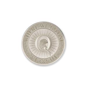 QANON – TYPE I – 1/2 TROY OUNCE – 30MM