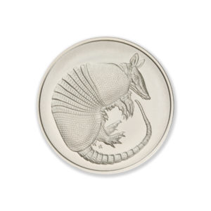 DON'T MESS WITH TEXAS / ARMADILLO – 2 TROY OUNCE – 39MM