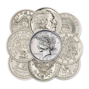2 TROY OUNCE – 39MM & 50MM – REJECT