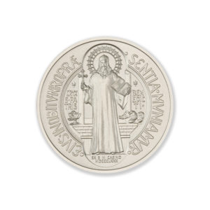 THE SAINT BENEDICT MEDAL  – 2 TROY OUNCE – 39MM