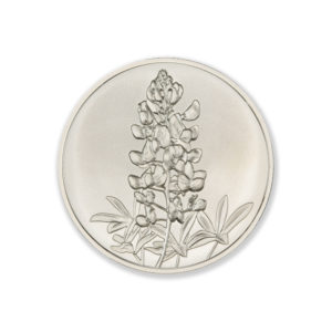 DON'T MESS WITH TEXAS / BLUEBONNET  – 1 TROY OUNCE – 39MM