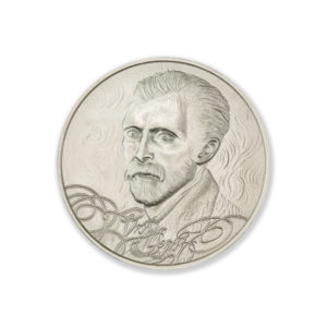 MASTERS OF ART – VINCENT VAN GOGH -1 TROY OUNCE – 39MM