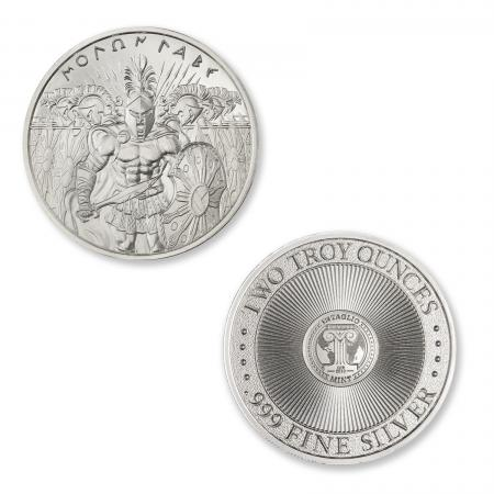 Diagonal Template - Molon Labe Type II - Two Troy Ounce